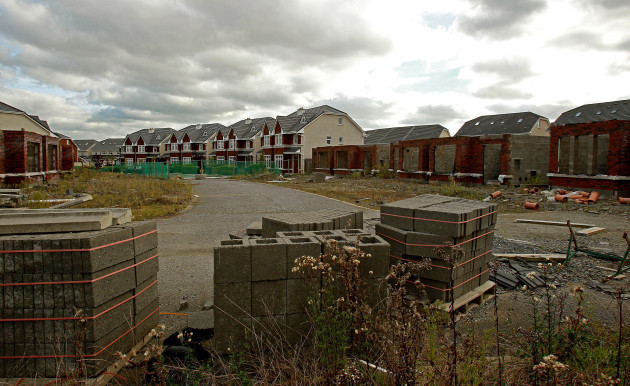 Unfinished housing estates funding shortage