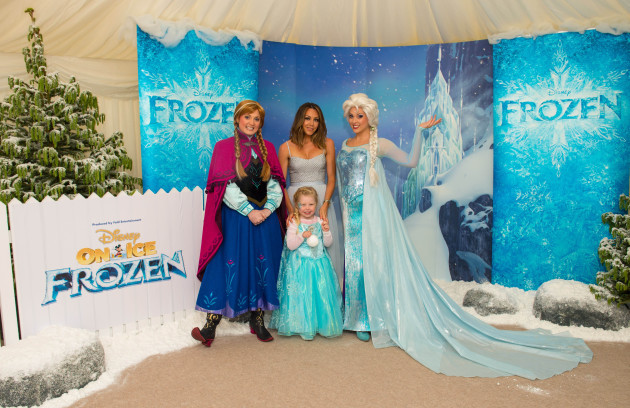 Disney On Ice Frozen launch - London