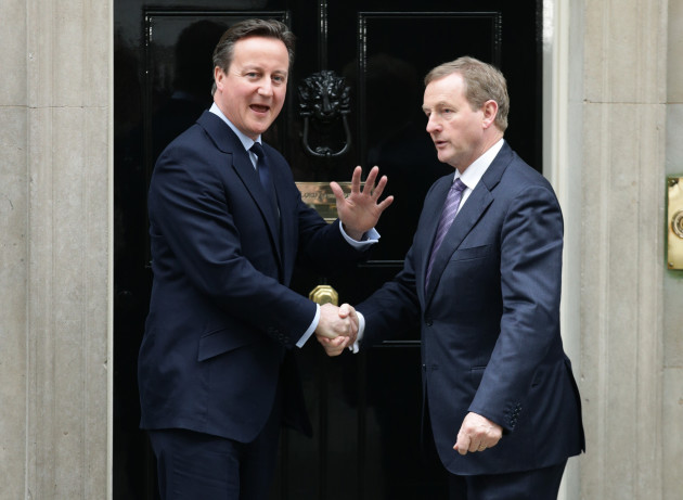 Enda Kenny visit to Downing Street