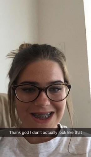 snapchat Fat girl