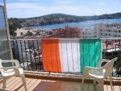 View from Deya Hotel above Shamrock