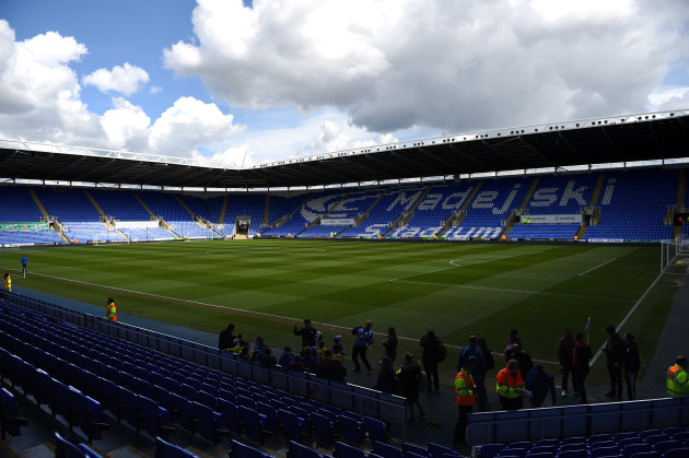 Reading v Preston North End - Sky Bet Championship - Madejski Stadium
