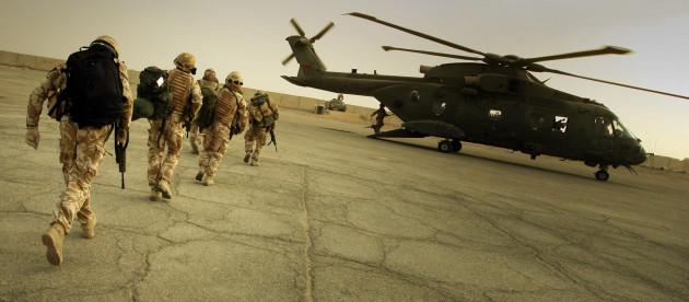 British prepare to leave Basra