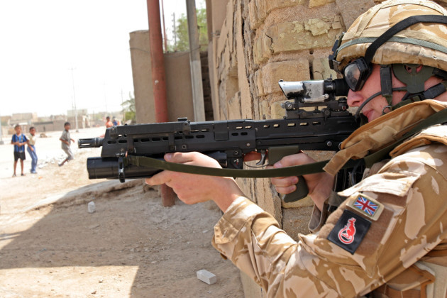 IRAQ BRITISH TROOPS