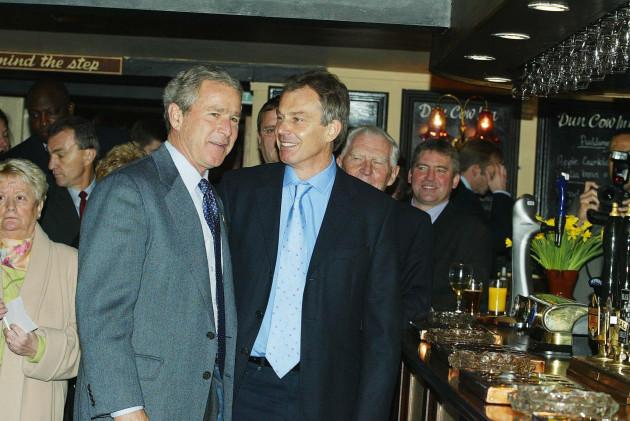 Bush and Blair Visits County Durham