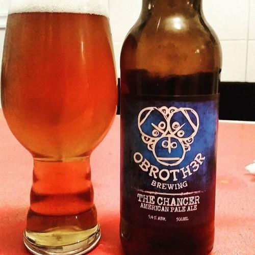 OBroth3r Brewing The Chancer American Pale Ale @5.4% #obrother #obroth3r #thechancer #americanpaleale #wicklow #irishcraftbeer #Ireland #irishcraftbeer #craftbeer #beerporn #cheersguys #beeroclockshow #cheersguys #beerpics #craftipa #beergeek #beerfan #beergram