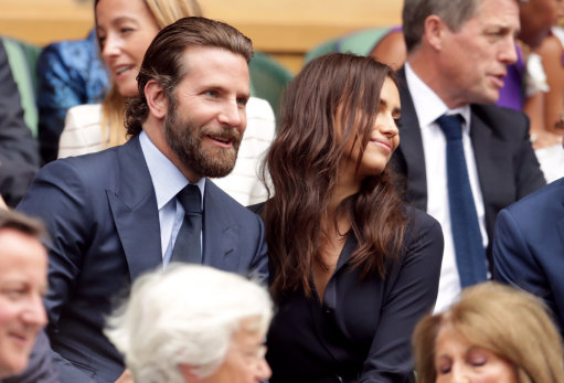 Bradley Cooper Appears to Make Irina Shayk Cry at Wimbledon