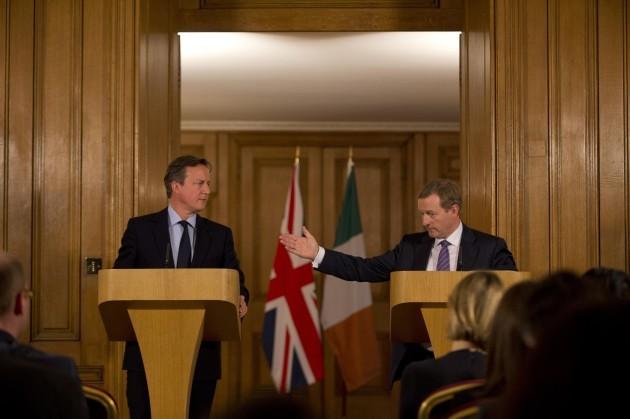 Enda Kenny visit to Downing Street