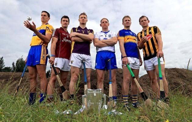 Brendan Bugler, David Burke, Matthew O'Hanlon, Kevin Moran, Noel McGrath and Padraig Walsh