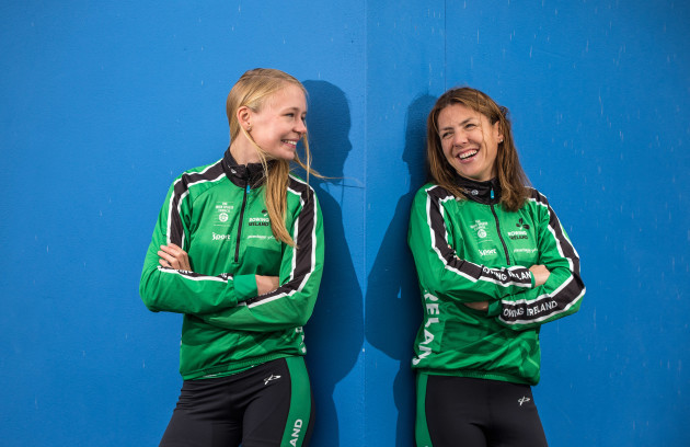 Sinead Jennings and Claire Lambie