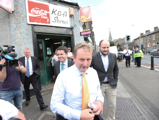 20/07/2016 The Taoiseach as he visit the North Eas