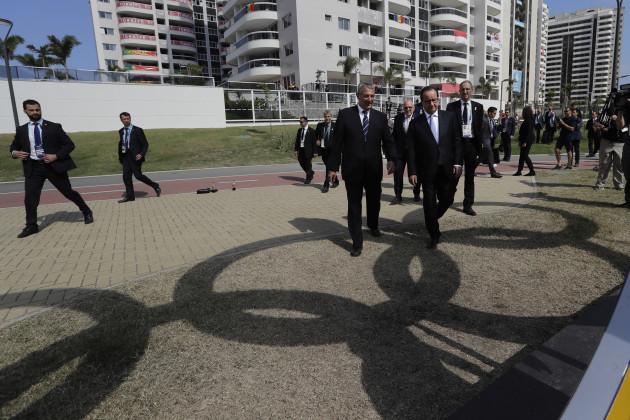 Rio Olympics Hollande