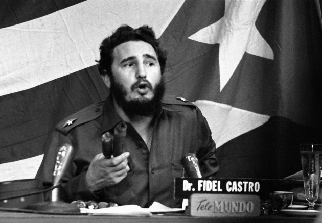 Fidel Castro Speaking