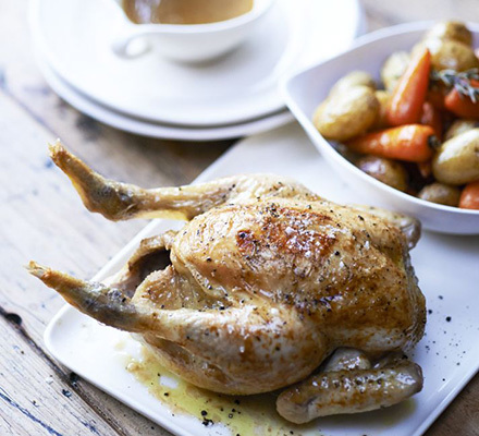 Really easy roast chicken