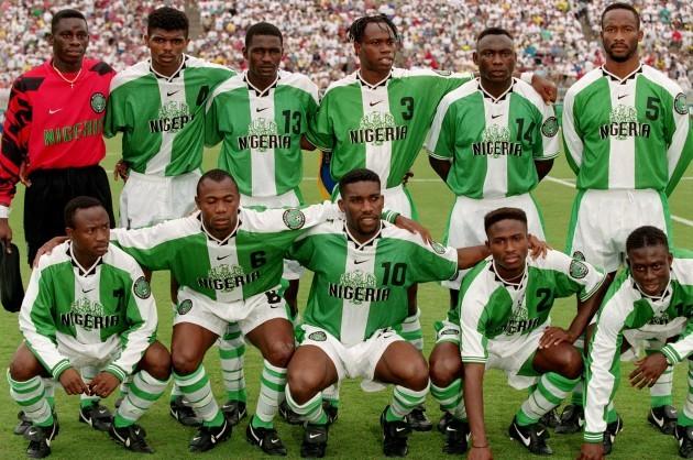 Atlanta Olympic Games -Soccer, Brazil v Nigeria