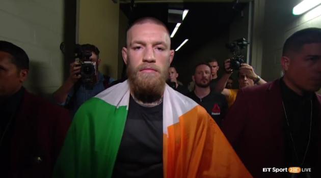 Conor McGregor's Post-UFC 202 Media Scrum