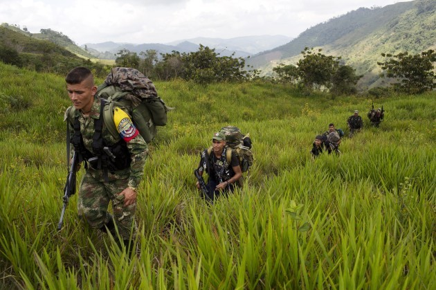 Colombia Rebel Camp