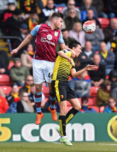 Watford v Aston Villa - Barclays Premier League - Vicarage Road