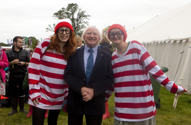 Michael D. Higgins at Electric Picnic