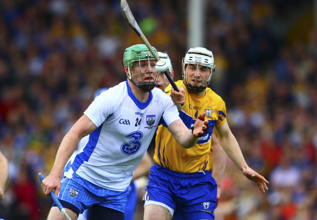 Tom Devine is tackled by Cian Dillon