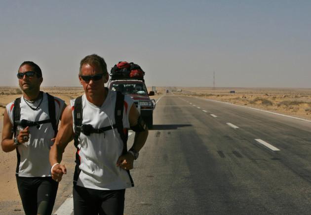 MIDEAST RUNNING THE SAHARA
