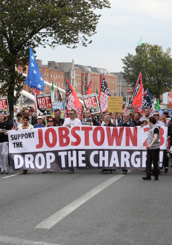 19/9/2015. Anti Water Charges Campaigns
