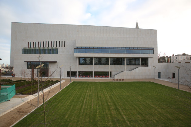 15/12/2014. New Dun Laoghaire Libraries