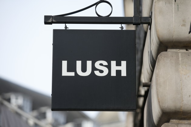 Lush cosmetics in London