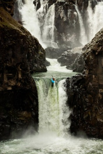 Womens World Waterfall Record Holder