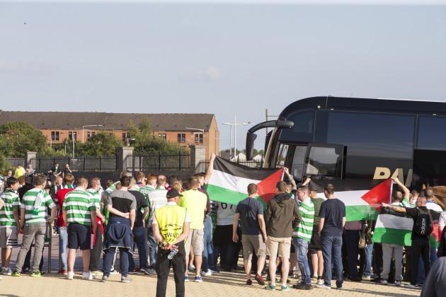 Celtic v Hapoel Beer Sheva - UEFA Champions League Qualifying - Play-Off First Leg - Celtic Park