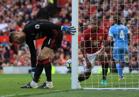 Manchester United v Stoke City - Premier League - Old Trafford