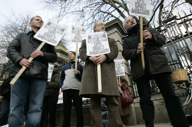 26/2/2010 Anti Israeli Protests