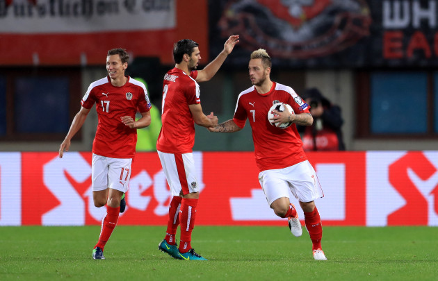 Austria v Wales - 2018 FIFA World Cup Qualifying - Group D - Ernst Happel Stadium