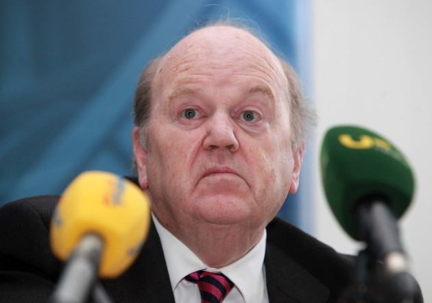 File Photo Michael Noonan under pressure over the comptroller and Auditor General's report into the sale of NAMA's Northern Ireland portfolio called Project Eagle.