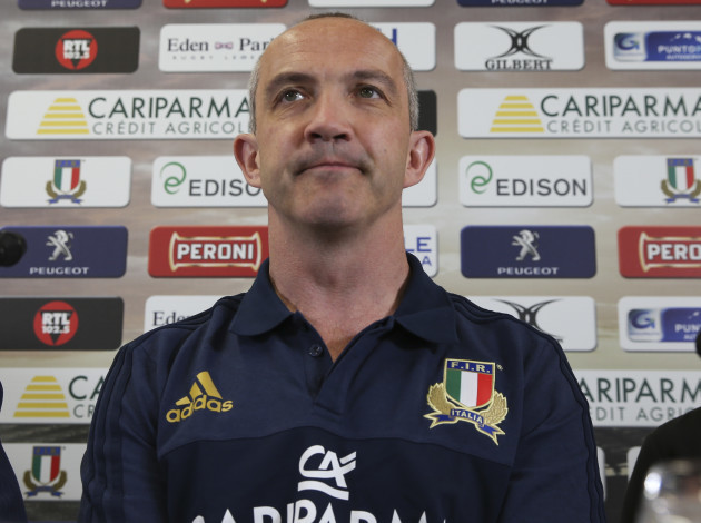Italy Rugby O'Shea