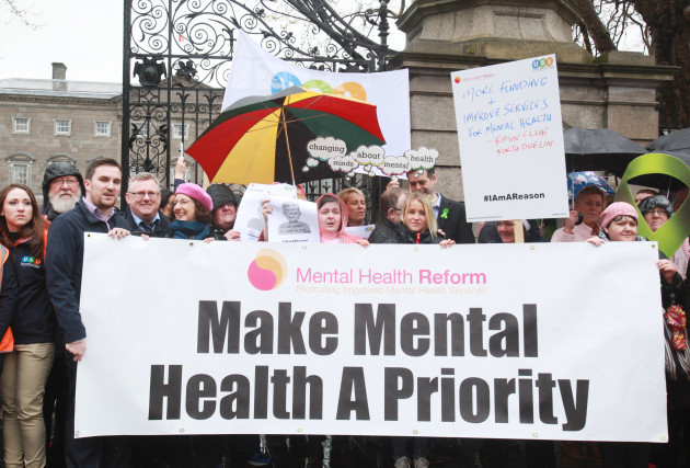 28/4/2016. Metal Health Issues Protests