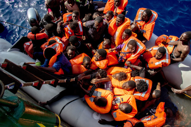 25 People Found Dead & 246 Rescued By MSF