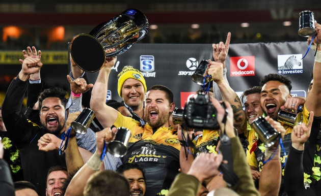Super Rugby Final - Hurricanes v Lions, 6 August 2015