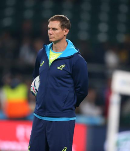 AustraliaÕs assistant coach Stephen Larkham