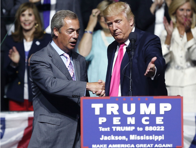 Nigel farage says donald trump is backing britain after NY talks