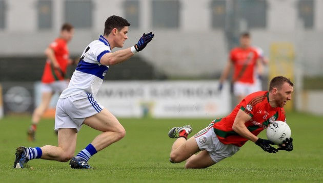 Diarmuid Connolly with Christopher Crowley