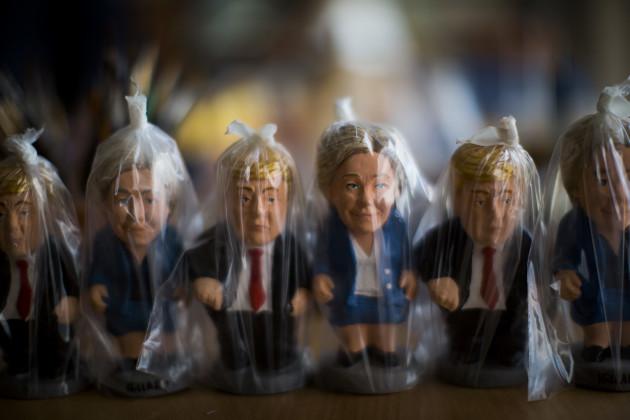 Spain Clinton Trump Miniatures