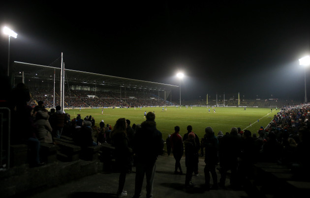 A general view of the large crowd at McHale Park