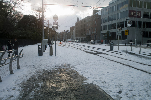 Dublin - The Big Snow Of 2010 (Stephen's Green Area)