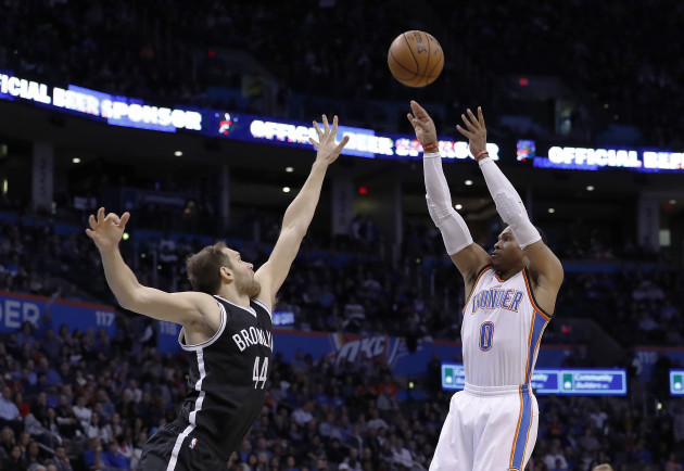 Nets Thunder Basketball