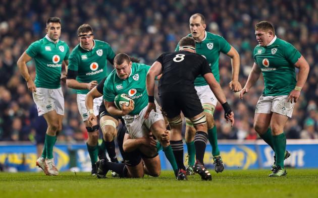 Jack McGrath on the attack