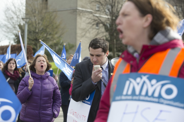 2/3/2016. Nurses Protests Health Service Crisis