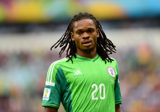 Soccer - FIFA World Cup 2014 - Group F - Nigeria v Argentina - Estadio Beira-Rio