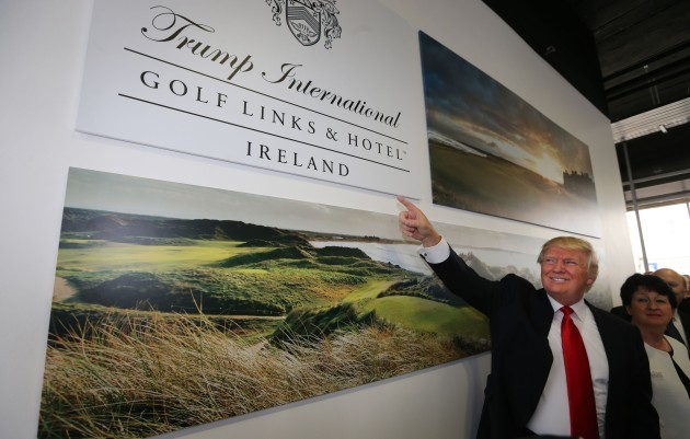 Trump in golf conservation deal