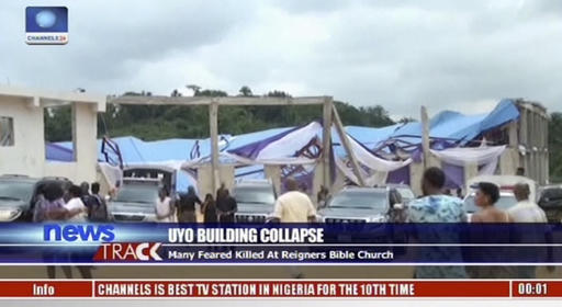 Nigeria-Collapsed Church